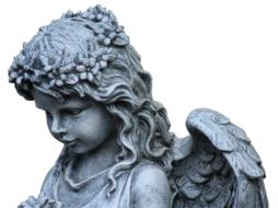 Angel Wing Guardian statue