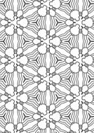 pattern design pretty art flowers drawing