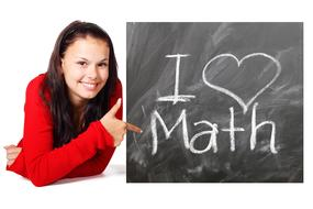 girl loves mathematics