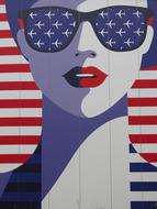 Usa Woman Face