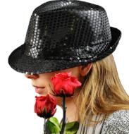 Woman Hat Rose red