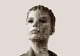 woman artificial intelligence computer science
