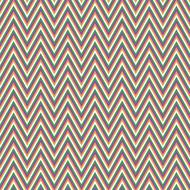 chevron retro pattern
