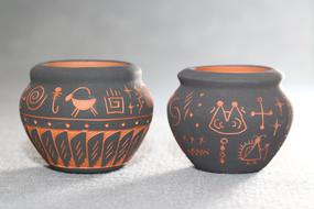 traditional Pottery by Navajo, Native American people