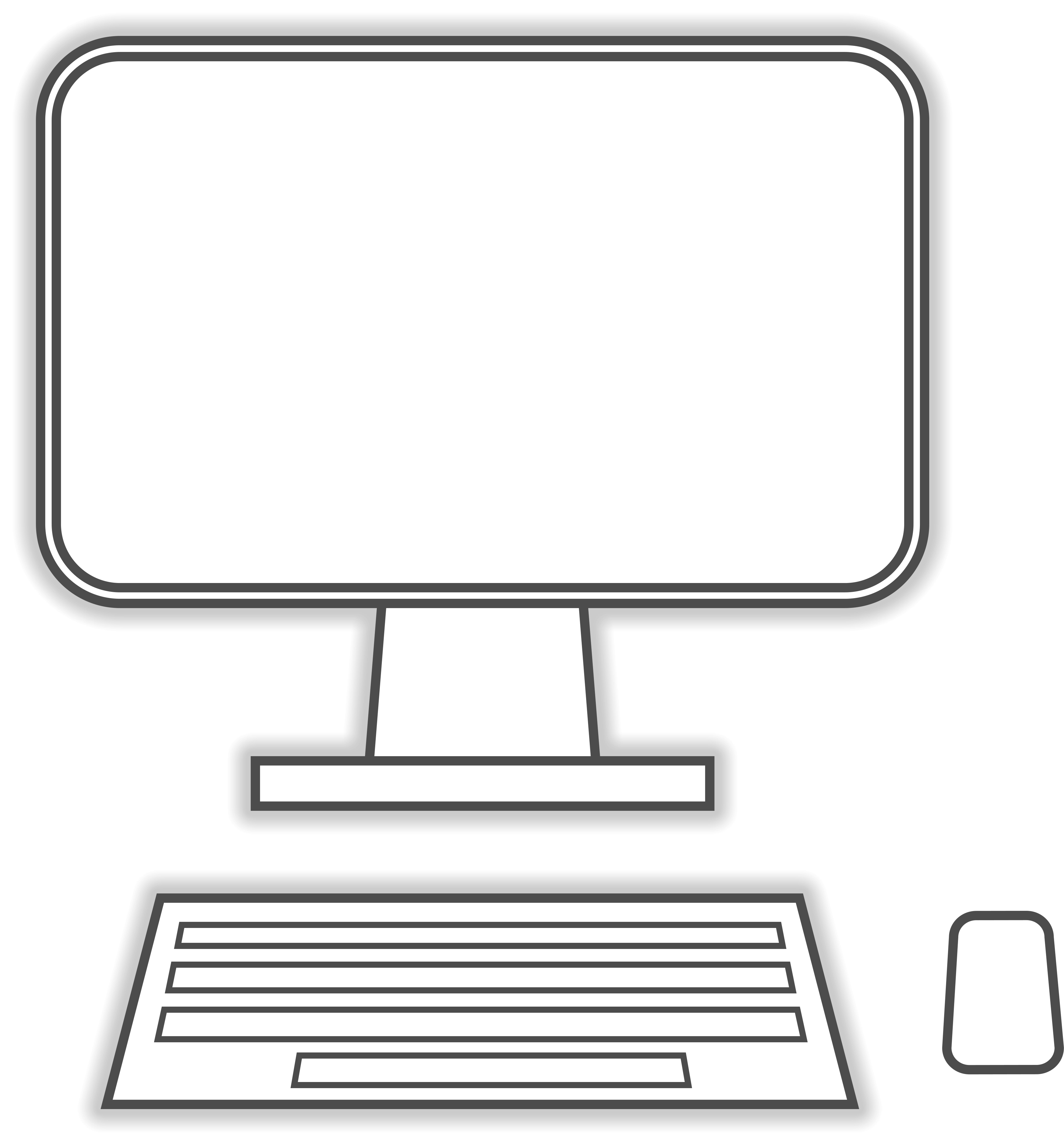 Computer As Sketch Free Image
