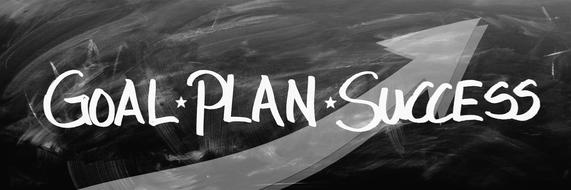 business plan to goal, plan and success