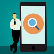 search engine in smartphone