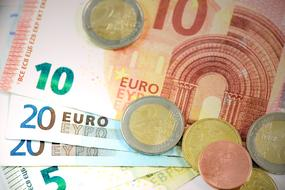 Euro Money Currency and coins