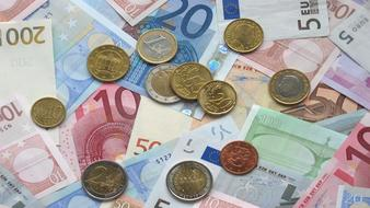 european currency BankNotes and Coins