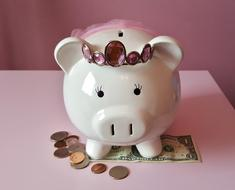 cut piggy bank