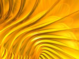 shiny gold abstract background