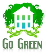 go green house drawing