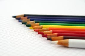 Artistic colored pencils