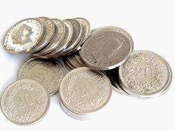 Money silver Coins