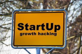 sign for startup
