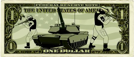 usa dollar object panzer soldiers drawing