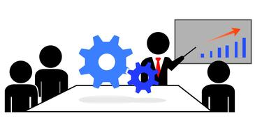 training development business drawing