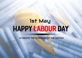 happy labour day, banner