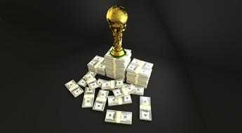 Trophy Soccer Sport and cash