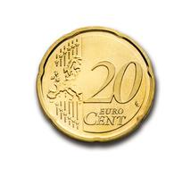 Cent 20 Euro gold