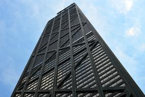 the John Hancock Center is a 100-story supertall skyscraper located in Chicago