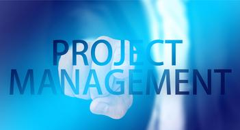project management hand finger