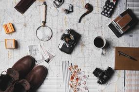 Map Microscope and Coffee