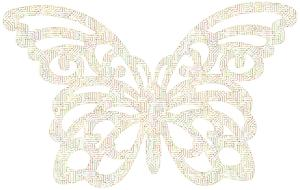 butterflyl insect electronic drawing