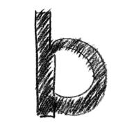 abc alphabet letters b drawing
