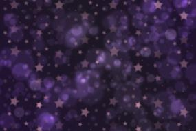 background with purple stars