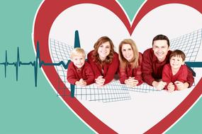 family health heart banner