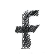 facebook online internet icon f drawing