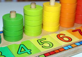 Counting Education Toy Wooden