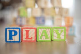 Kids Words Toy play