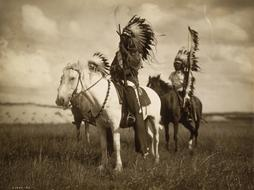 Historical Vintage Sioux indian