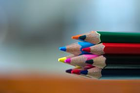 multicolored Pencil Macro