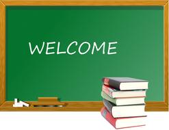 welcome classroom school books