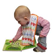 Toddler Learning Book frog