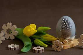 Easter and Flower Egg