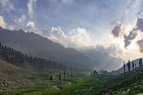 morning in Jahaz Banda, Pakistan