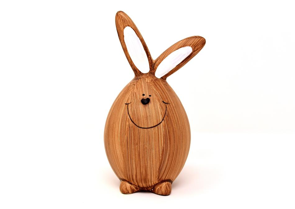 Easter Bunny Spring wood fig