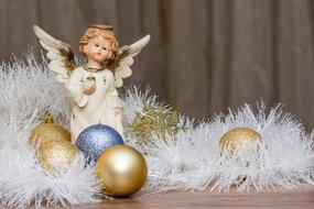 Christmas Presents angel decoration