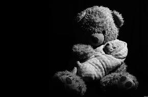 Teddy Bears black and white