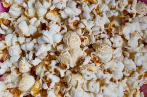 Popcorn, fast food background