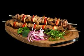 Skewer Kebab Barbecue food