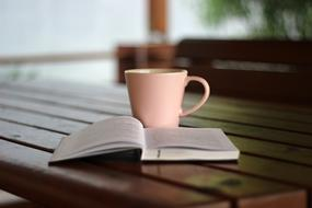Coffee and Book table