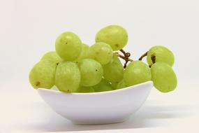 Grapes Green plate