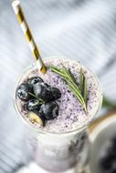 Antioxidant Beverage with Blueberries