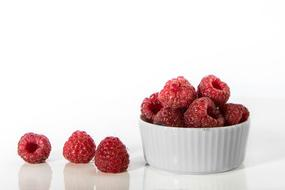 perfect Bowl Raspberries Bay