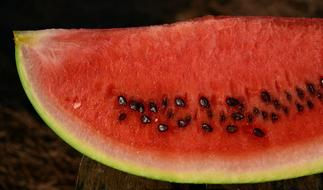 fresh red Watermelon Fruit
